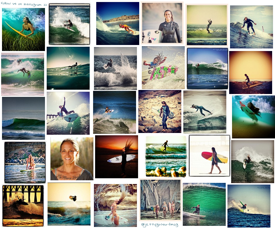 Surfergirl photo collage including harley taich, sally fitzgibbons, malia ward, erin ashley, margaux arramon-tucoo, anastasia ashley, cori schumacher, alize arnaud, kylie loveland, shea hodges, jenni flanigan, chloe buckley, reika noro, steffi kerson, kyla langen, stephanie schechter, kaley swift, megan godinez, claire bevilacqua, bianca buitendag, lauren sweeney, alexa frantz, kelsey harris, mallory eberlin, courtney conlogue